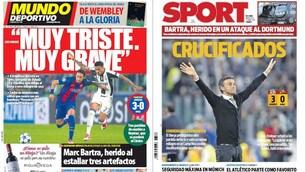Juventus-Barcellona sui media spagnoli: «Servirà un altro miracolo»