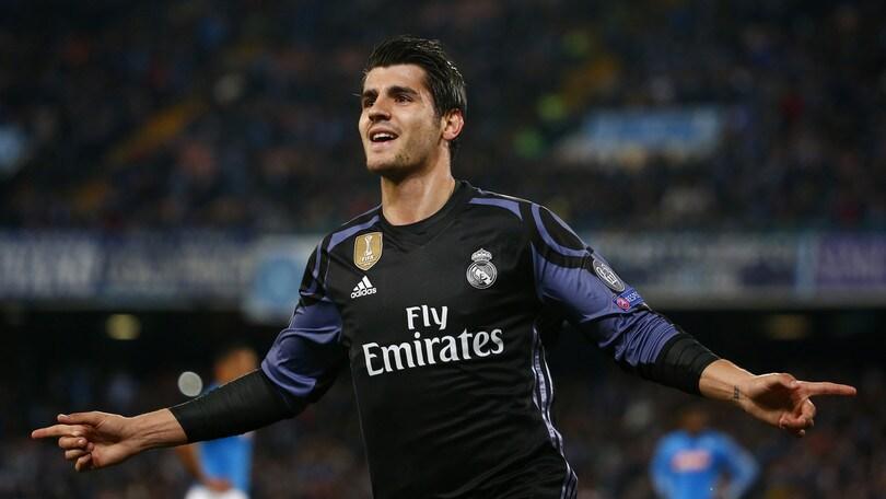 Real Madrid, Morata: «In debito con Conte, un giorno mi allenerà»