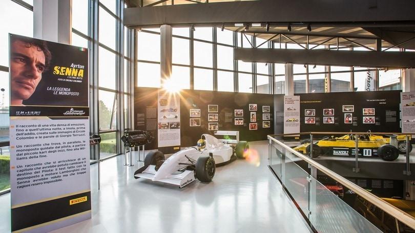 Al Museo Lamborghini apre la mostra su Ayrton Senna
