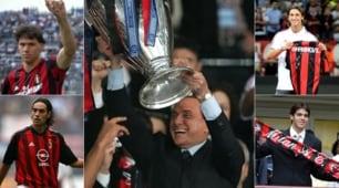 Milan, Berlusconi: da Van Basten a Ibrahimovic, 31 anni di colpi di mercato