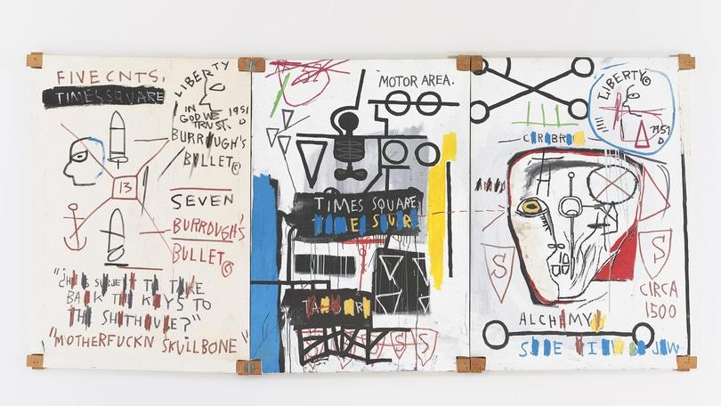 Basquiat in mostra al Chiostro del Bramante