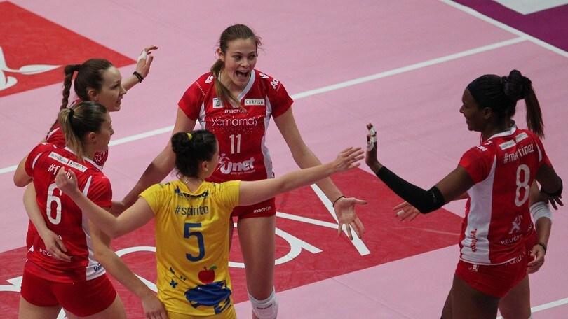 Volley: Cev Femminile, la UYBA cerca l'impresa contro la Dinamo