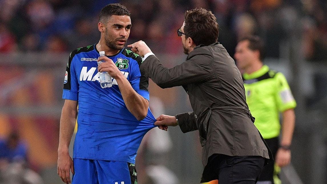 Gregoire Defrel, 25 anni, attaccante centrale francese del Sassuolo