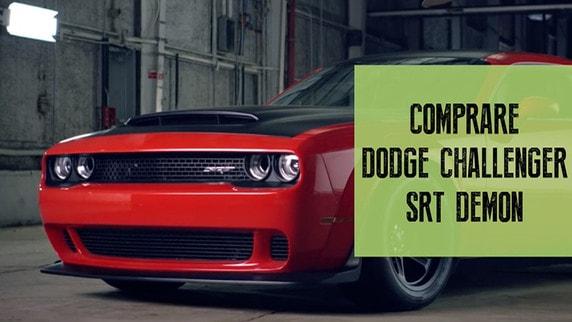 Challenger SRT Demon, perchè comprare un'auto da 844 cv