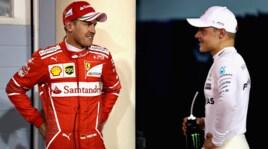 Bottas primo, Vettel in seconda fila: le immagini delle qualifiche in Bahrain