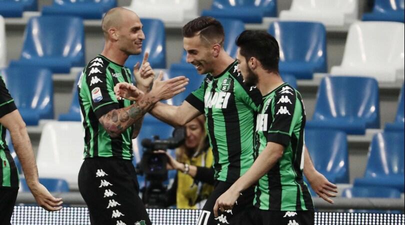 Serie A, Sassuolo-Sampdoria 2-1: Ragusa-Acerbi, Di Francesco torna a vincere