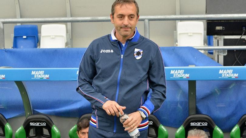 Serie A Sampdoria, Giampaolo: «Brutto perdere, non siamo più abituati»