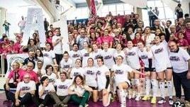 Volley: A2 Femminile, Filottrano espugna Caserta e festeggia la promozione