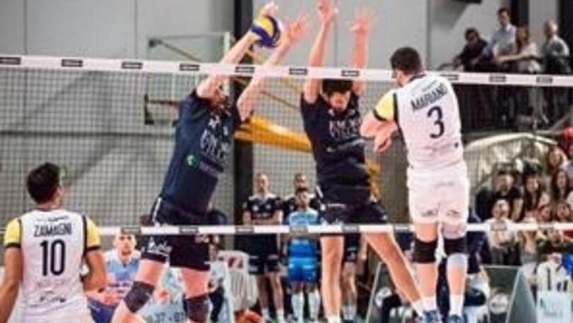 Volley: A2 Maschile, Play Off Promozione Spoleto vince al tie break e fa 1-1