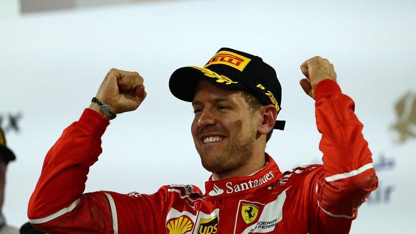 F1, Vettel: «Questa Ferrari è sempre un piacere»