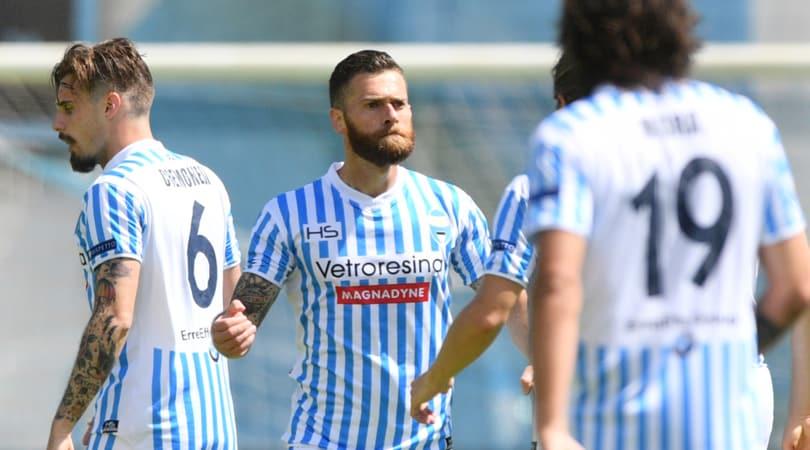 Serie B, Spal-Trapani 2-1: Antenucci rimonta e difende la vetta