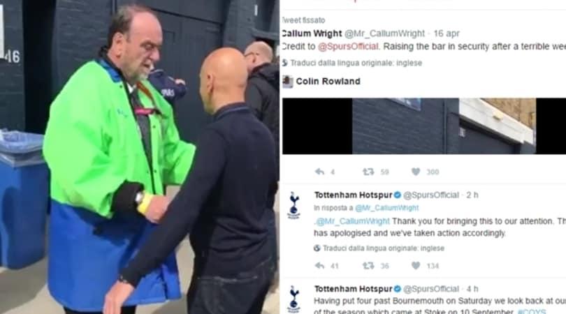 Perquisizioni finte, il Tottenham licenzia lo steward