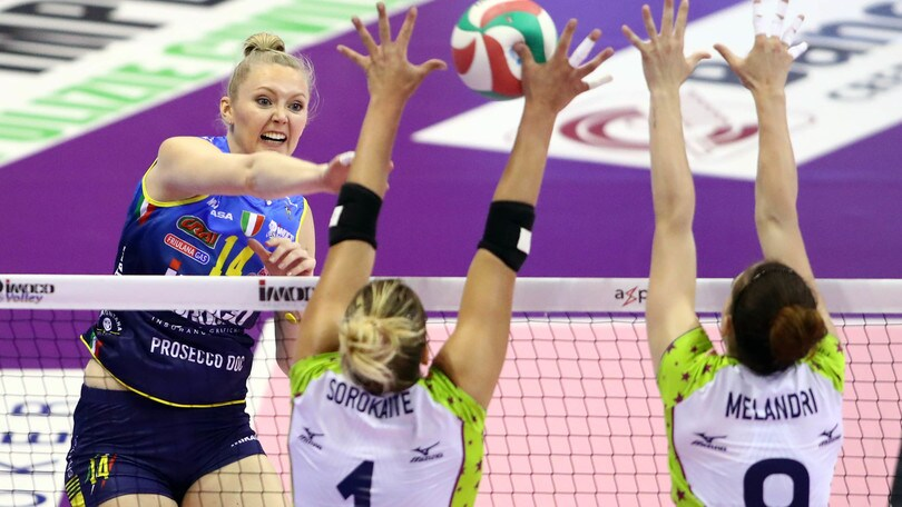 Volley: A1 Femminile, la legge del PalaVerde premia Conegliano