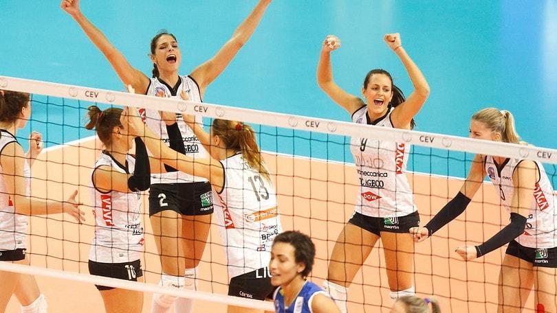 Volley: A1 Femminile, Modena porta Bergamo alla bella