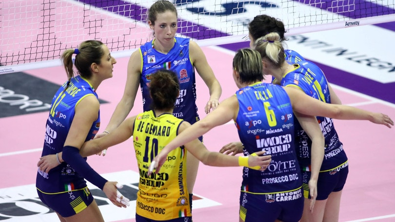 Volley: A1 Femminile, Conegliano è in semifinale