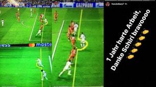 Furia Ribery: «Bravo arbitro, buttato un anno di lavoro»