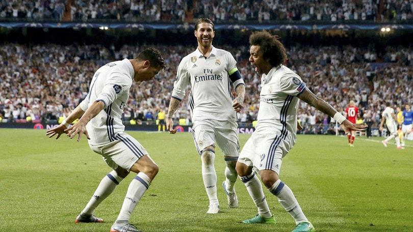 Champions League, il Real va: trionfo Blancos a 2,65