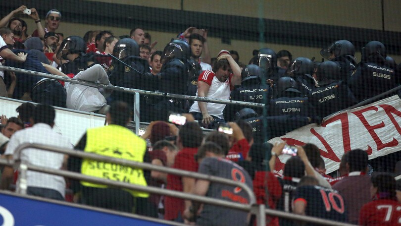 Scontri al Bernabeu, il Bayern Monaco sporge denuncia