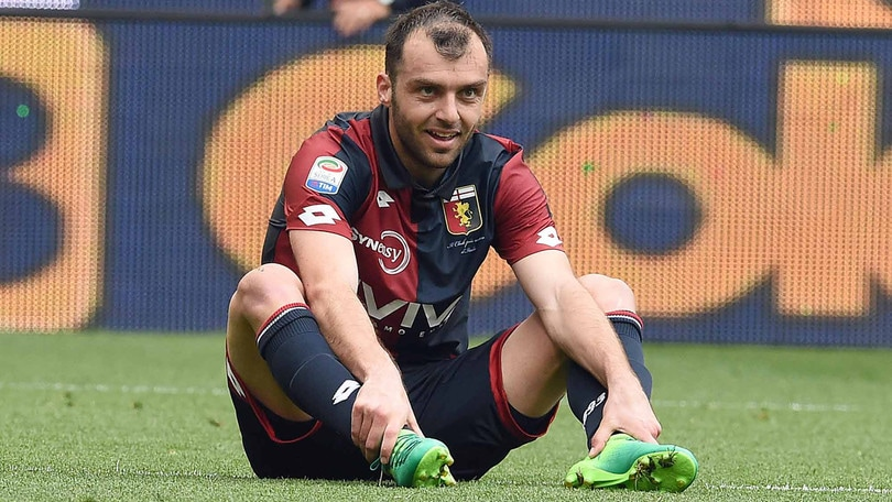 Serie A Genoa, Pandev fermo: dolore alla schiena