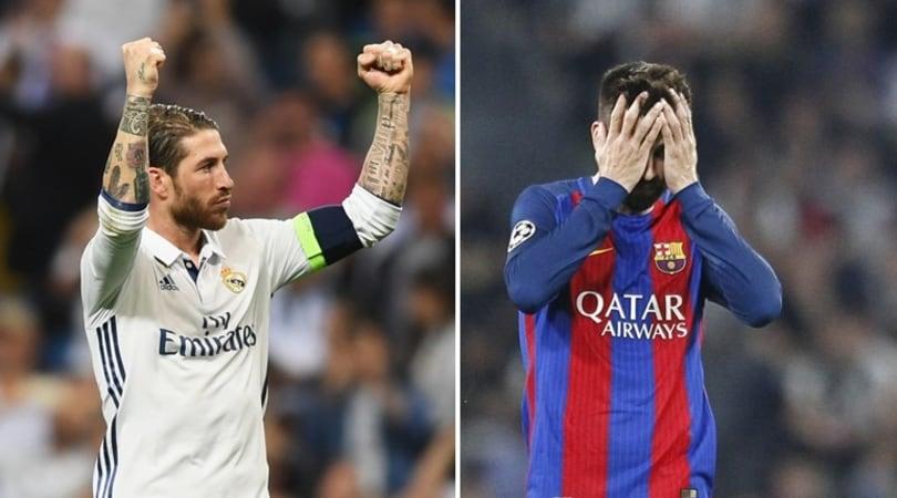 Arbitri, Ramos replica a Piqué: accuse e controaccusetra Real e Barcellona