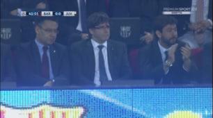 Il Barcellona non restituisce palla, Agnelli applaude in tribuna