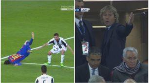 Messi a terra sanguina, Neymar fa infuriare Nedved