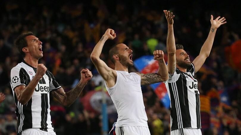 Juventus, Bonucci l'aveva previsto: «Se becchiamo il Barcellona lo facciamo fuori»