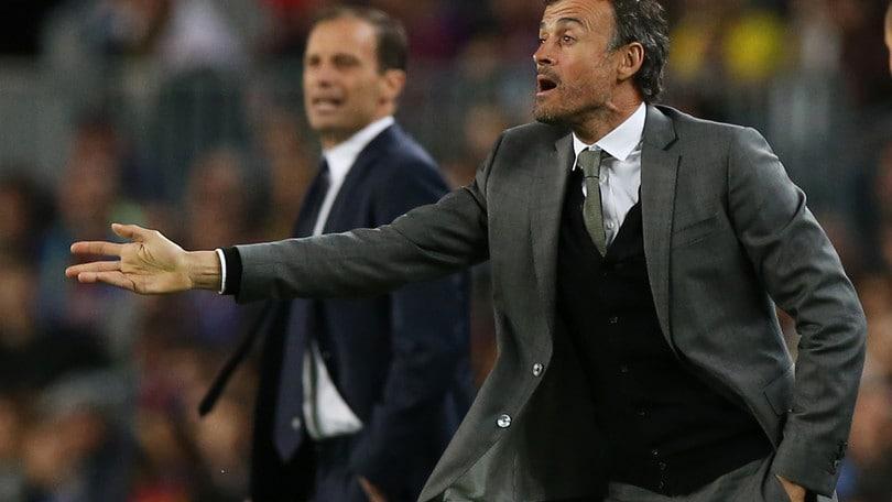 Champions, Luis Enrique e il Barcellona in coro:«Brava Juventus»
