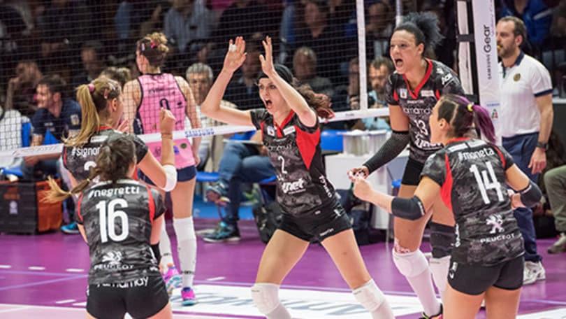 Volley: A1 Femminile, impresa Busto batte la Pomì e conquista Gara 3