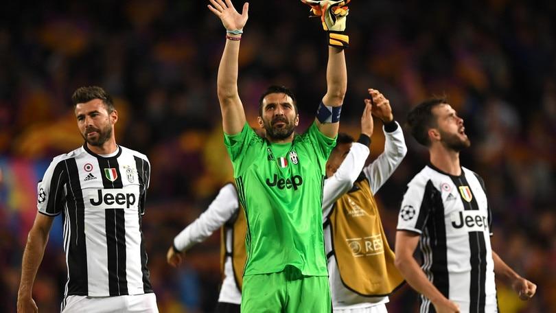Juventus, Buffon: «Chi voglio in semifinale? Nessuno o tutti»