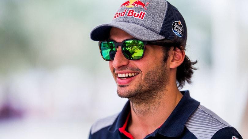 F1 Toro Rosso, Sainz: «Soddisfatto dei test»