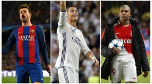 Top 11 Champions League: tre della Juventus, ma non c'è Chiellini