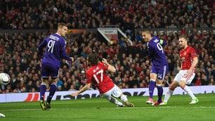 Manchester United-Anderlecht 2-1: Mourinho conquista la semifinale