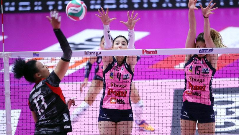 Volley: A1 Femminile, in semifinale ci va la Pomì