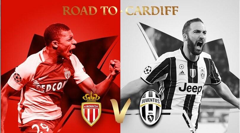 Diretta sorteggi Champions: la semifinale è Monaco-Juventus