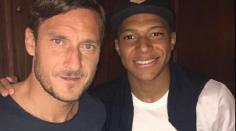 Montecarlo, Mbappé incontra Totti al Master 1000: «Con la leggenda»