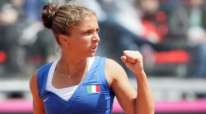 Fed Cup: Italia sfida Taipei per rimanere nel World Group II