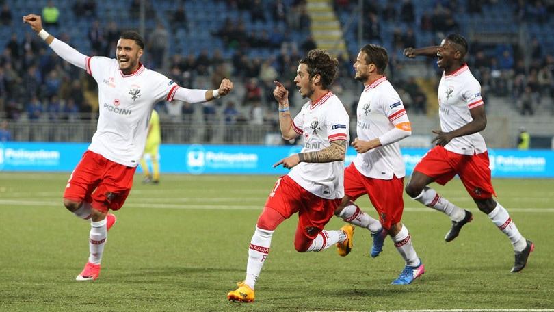 Serie B, Novara-Perugia 0-1: basta il gol di Dezi
