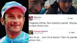 Morte di Michele Scarponi: i tweet del mondo dello sport