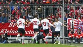 Magonza, Bojan Krkic in gol contro il Bayern Monaco