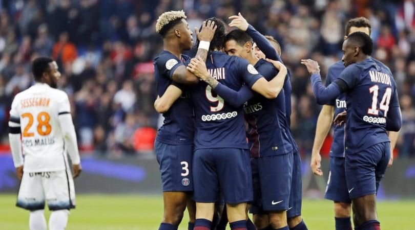 Ligue 1, Cavani e Di Maria in gol: 2-0 al Montpellier e Psg solo in vetta