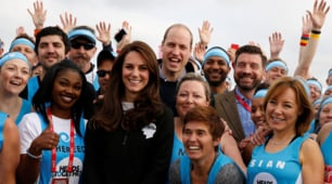 William, Kate ed Harry: la maratona di Londra è reale