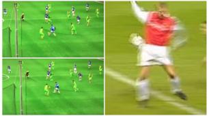 Schick come Bergkamp! La fotosequenza del gol da urlo