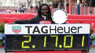 Maratona di Londra: grandissima impresa della Keitany