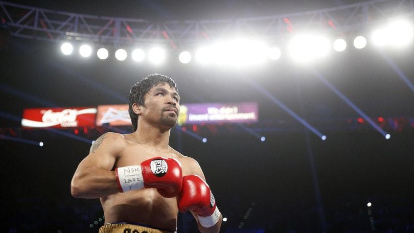 Manny Pacquiao torna sul ring: «Non sono finito»