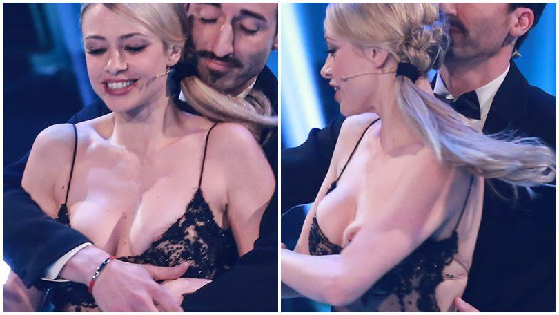 Martina Stella, incidente sexy a Ballando con le stelle
