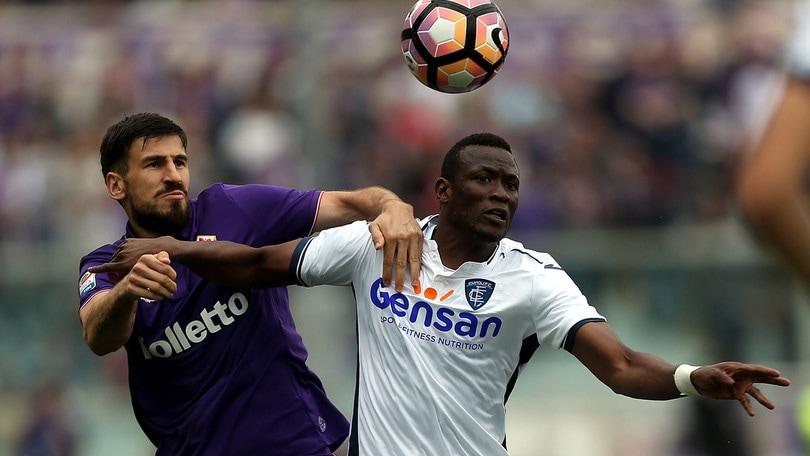 Serie A Fiorentina, escluse lesioni per Tomovic