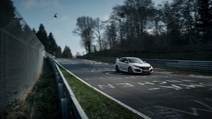 Honda Civic Type-R, il nuovo record al Nurburgring
