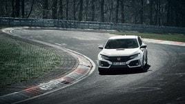 Honda Civic Type-R, arriva il record al Nurburgring