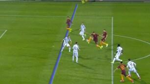 Pescara-Roma, la fotosequenza del gol annullato a Salah